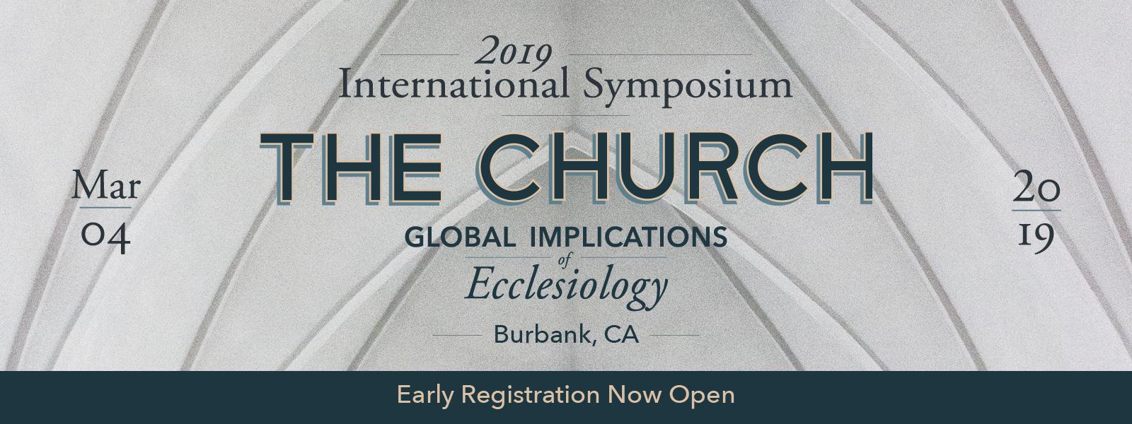 2019 International Symposium