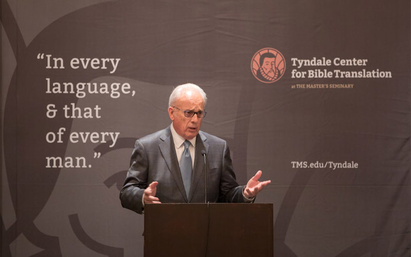 The Master's Seminary Launches the Tyndale Center for Bible Translation