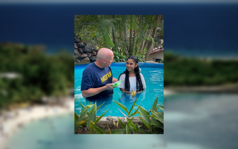 In Honduras: Does Baptism Make You Right with God?